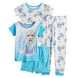 Disney's Frozen 2 Toddler Girl 4 Piece Elsa Pajama Set
