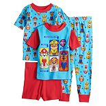 Toddler Boy Paw Patrol 4 Piece Pajama Set