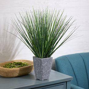 Scott Living Blue Green Grass Artificial Plant