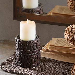 INK + IVY Pacheco Small Candle Holder