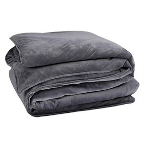 Sleep Soft Weighted Blanket & Removable Cover