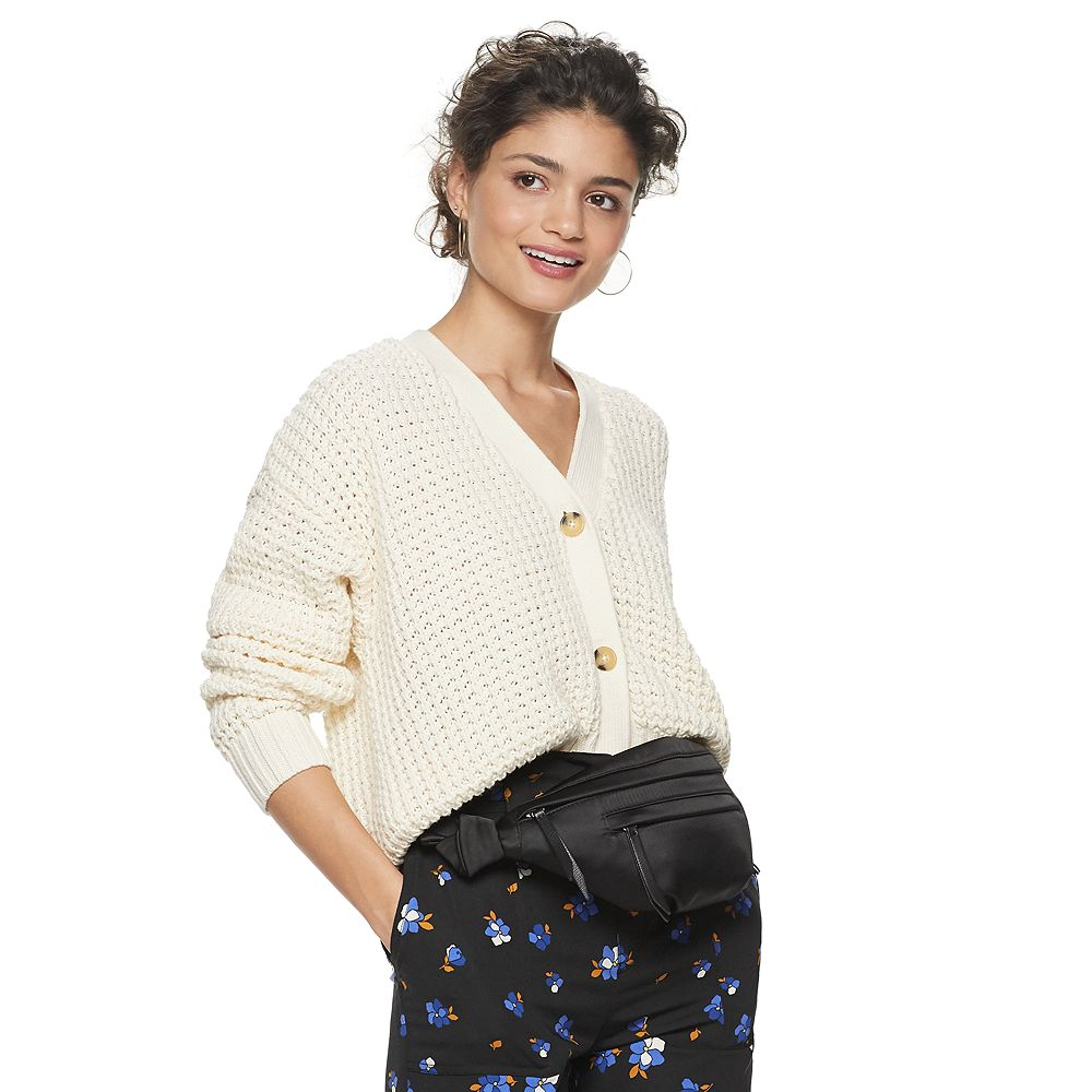 Women's Popsugar Button Front Cardigan