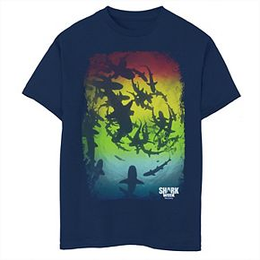 Boys 8-20 Shark Week Gradient Shark Silhouettes Tee
