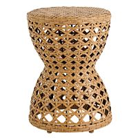 SONOMA Goods for Life Cane Weave Hourglass Accent Table Deals