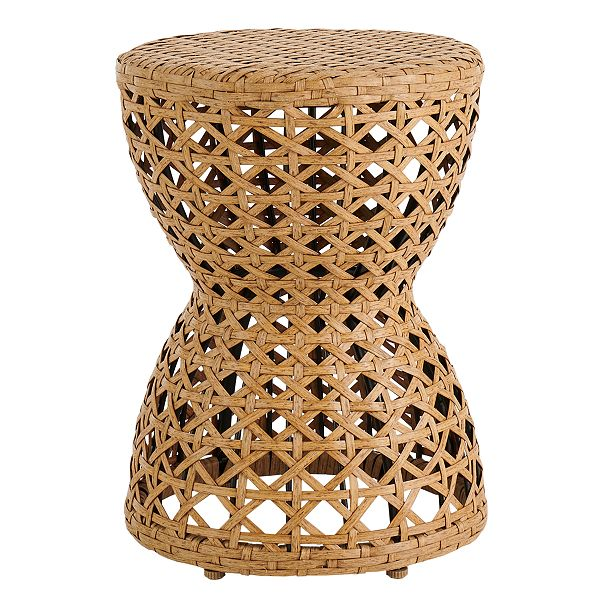 Sonoma Goods for Life Cane Weave Hourglass Accent Table + $10 Kohls Cash