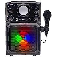 Karaoke USA Portable Bluetooth Karaoke Player Deals