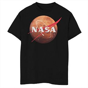 Boys 8-20 NASA Mars Planet Logo Graphic Tee