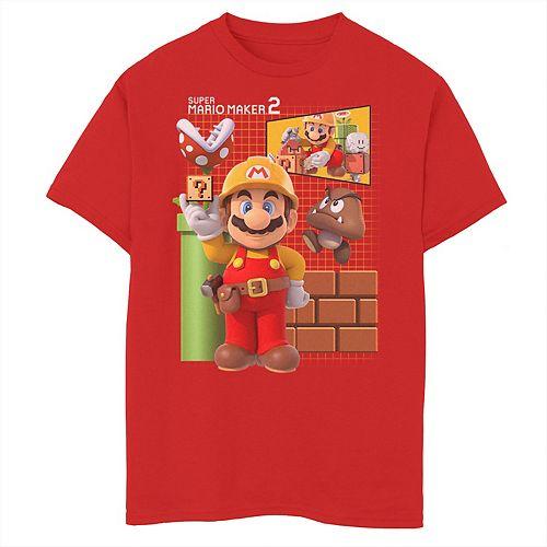 Boys 8 20 Nintendo Super Mario Maker 2 Game Play Grid