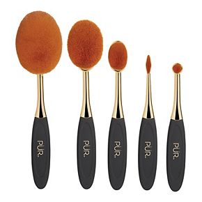 PUR Minerals PÜR Sweet 16 Party Essentials 5-Piece Limited-Edition Skin Perfecting Makeup Brush Set