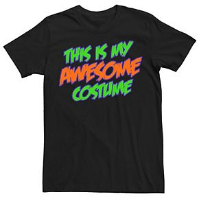 "Men's ""This is My Awesome Costume"" Tee"