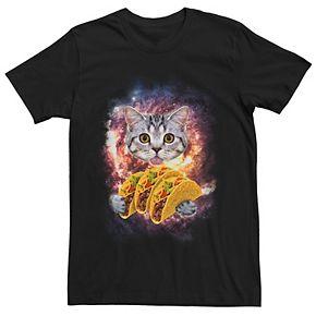 Men's Cat Taco Explosion Tee