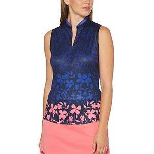 Women's Grand Slam Gradient Floral Print Polo