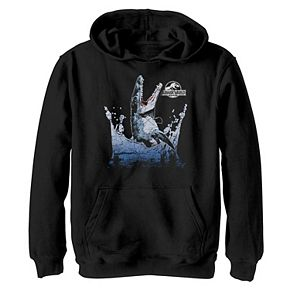 Boys 8-20 Jurassic World Aquatic Dinosaur Splash Hoodie
