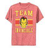 Boys 8-20 Marvel Classic Team Invincible Iron Man Performance Tee