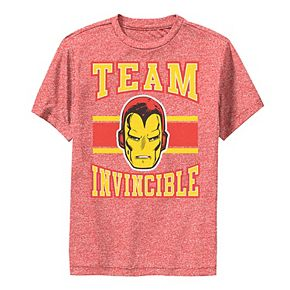 Boys 8-20 Marvel Classic Team Invincible Iron Man Performance Tee