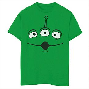 Boys 8-20 Disney / Pixar Toy Story Aliens Face Tee