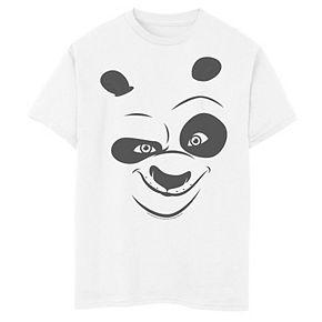 Boys 8-20 Kung Fu Panda Po Big Face Costume Tee