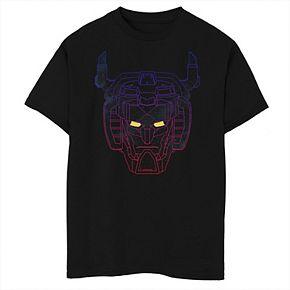Boys 8-20 Voltron: Legendary Defender Neon Color Fade Tee