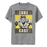 Boys 8-20 Marvel Heroes for Hire Luke Cage Performance Tee