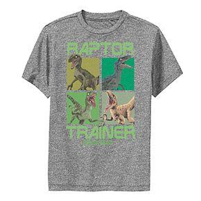 Boys 8-20 Jurassic World Raptor Trainer Dino Boxes Performance Tee