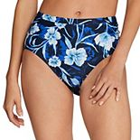 Women's Speedo Print High-Waist Bikini Bottoms