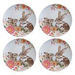 Celebrate Easter Together 4-pc. Melamine Dinner Plate Set