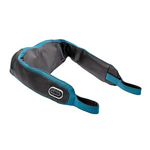 Brookstone 2-in-1 Tapping and Shiatsu Neck & Shoulder Massager