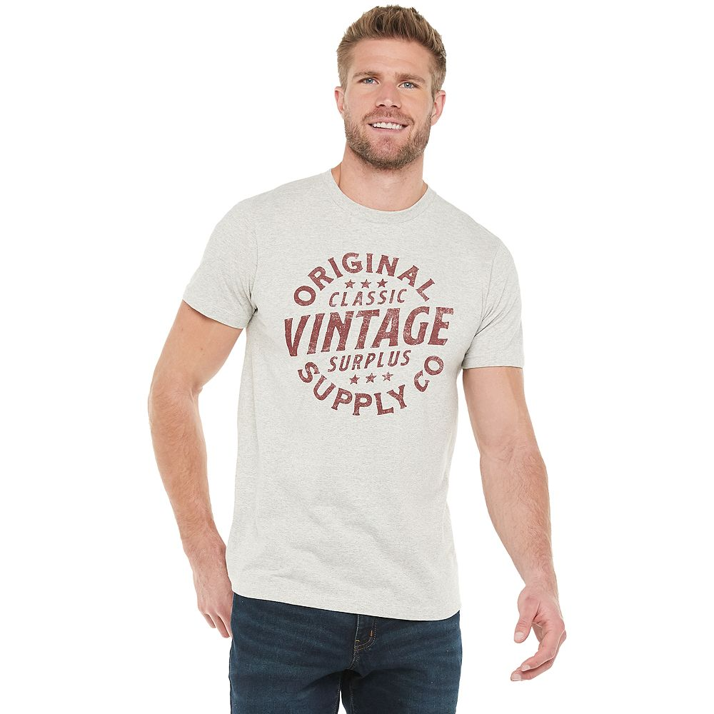 Men's SONOMA Goods for Life® Supersoft Vintage Graphic Tee