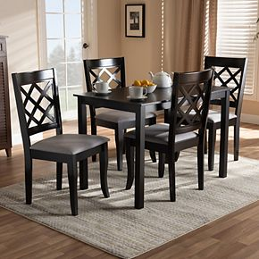 Baxton Studio Verner 5-Piece Dining Set