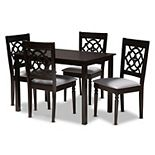 Baxton Studio Renaud 5-Piece Dining Set