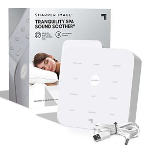 Sharper Image Sleep Therapy Sound Soother