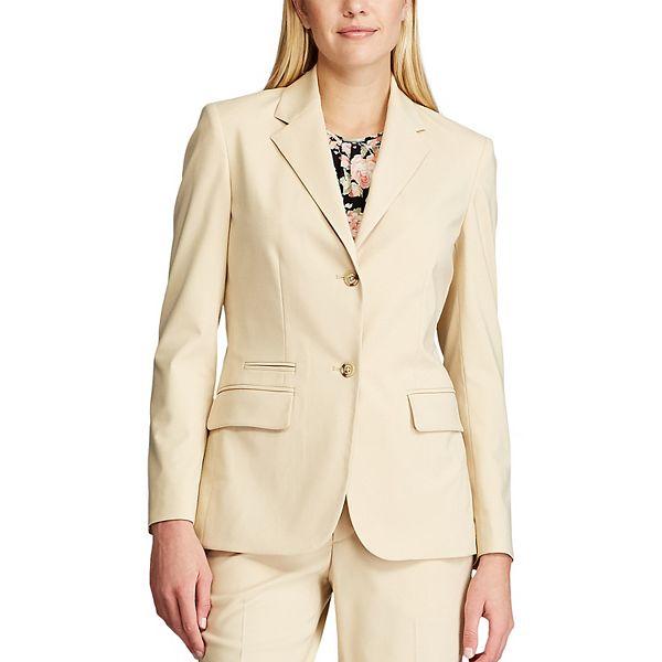 Women's Chaps Button-Front Blazer
