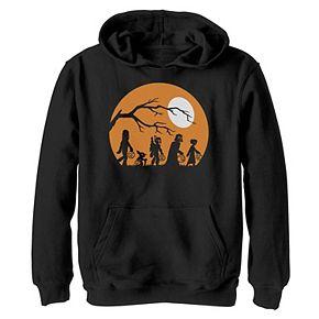 Boys 8-20 Star Wars Trick Or Treat Halloween Silhouette Graphic Hoodie