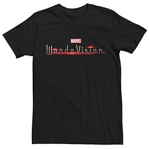 Men's Marvel Wanda Vision Logo Graphic Tee