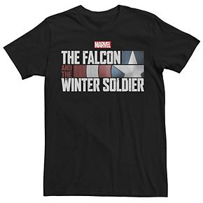 Men's Marvel Falcon And The Winter Soldier Logo Graphic Tee
