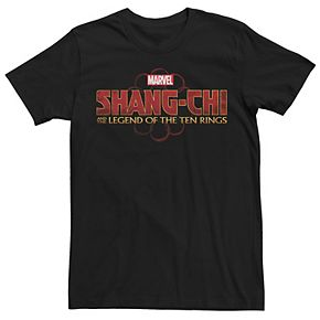 Men's Marvel Shang-Chi And The Legend Of The Ten Rings Logo Graphic Tee