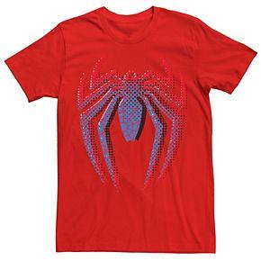 Men's Marvel Spider-Man Gradient Logo Graphic Tee