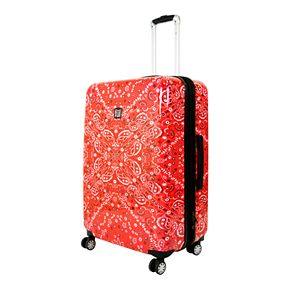 FUL Printed Hardside Spinner Luggage