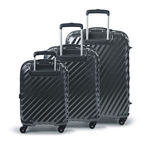 FUL Marquise Series 3-Piece Hardside Spinner Luggage Set