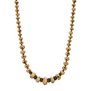 1928 Two Tone Bead Necklace
