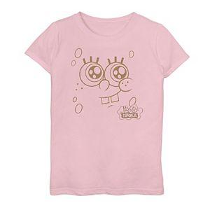 "Girls 7-16 SpongeBob SquarePants ""Bob Esponja"" Face Graphic Tee"
