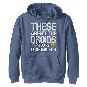 Boys 8-20 Star Wars Not The Droids Graphic Hoodie