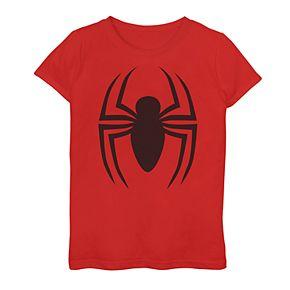 Girls 7-16 Marvel Ultimate Spider-Man Logo Graphic Tee