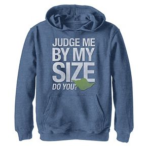 Boys 8-20 Star Wars Yoda Judge Me By My Size Do You Graphic Hoodie