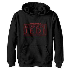 Boys 8-20 Star Wars Return of the Jedi Logo Classic Graphic Hoodie