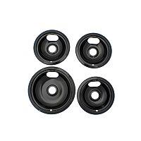 Range Kleen Black 4-pc. Style A Stovetop Set