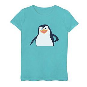 Girls 7-16 Madagascar Penguin Graphic Tee