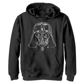 Boys 8-20 Star Wars Darth Vader Helmet Graphic Hoodie
