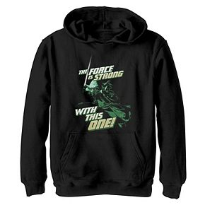 Boys 8-20 Star Wars Yoda The Force Is Strong Graphic Hoodie