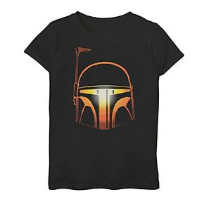 Girls 7-16 Star Wars Boba Fett Pumpkin Glow Graphic Tee